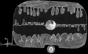 Logo de la caravane La Lumineuse.