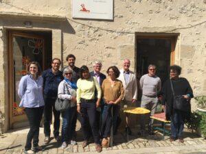 Visite du collectif Simones et les Mauhargats