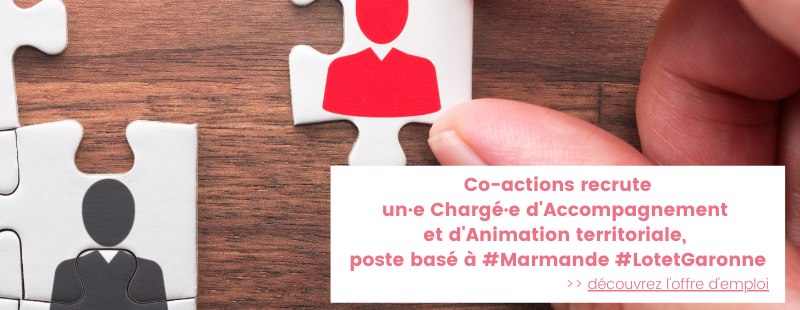 Offre emploi accompagnement Co-actions 2021
