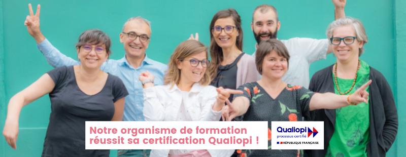 Co-actions acquiert la certification QUALIOPI